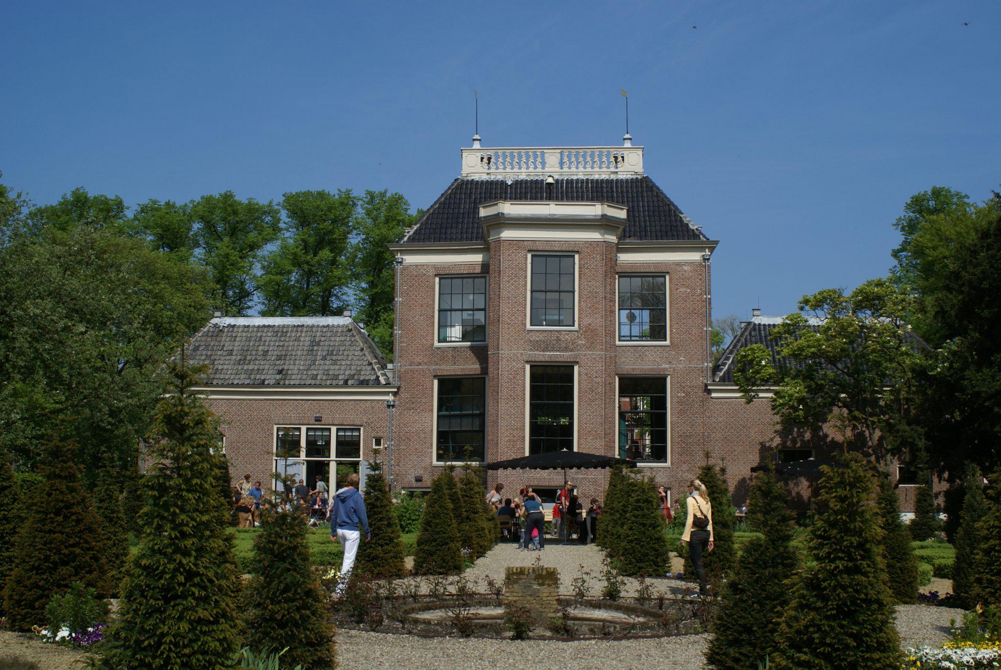Achterzijde Huize Frankendael