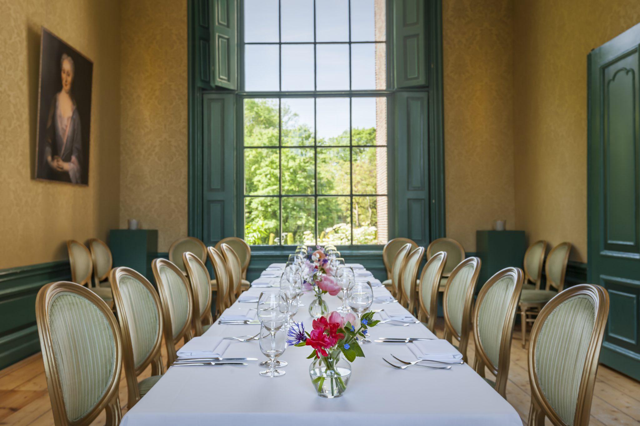 Grote salon privé diner