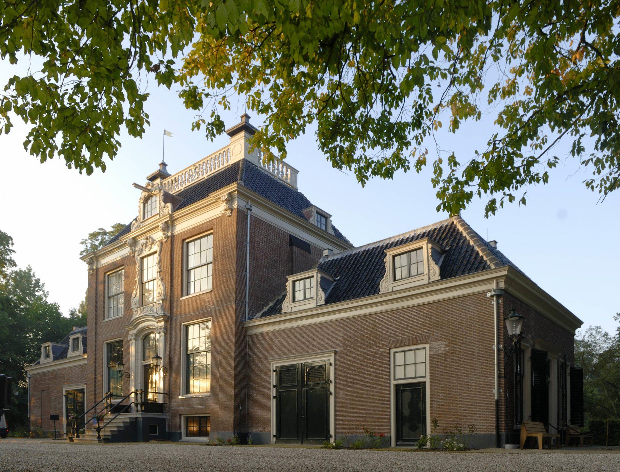 Vooraanzicht Huize Frankendael