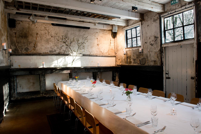 Koetshuis privé diner