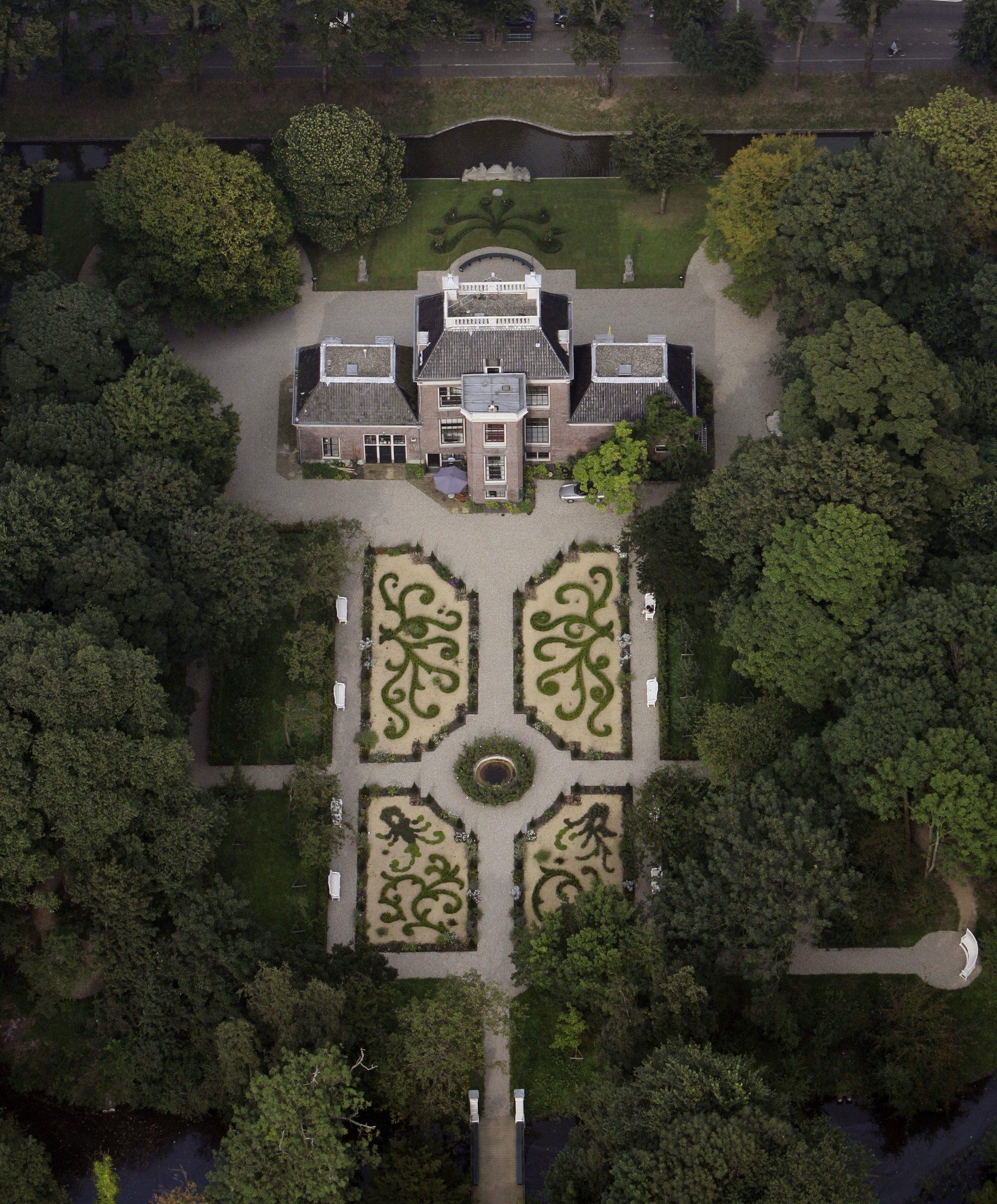 Luchtfoto Huize Frankendael