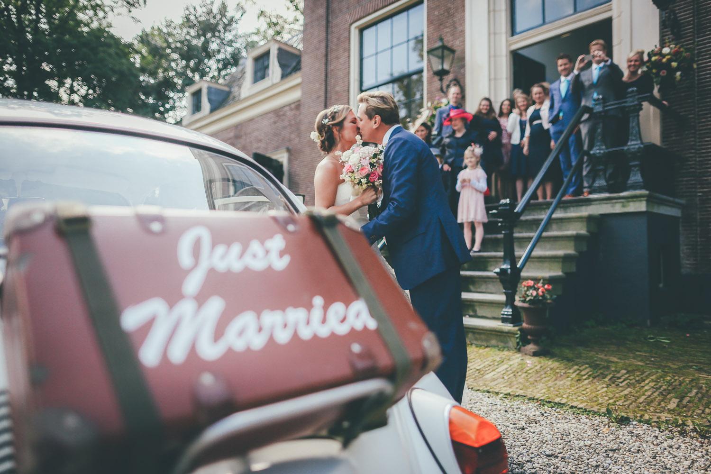 Ontvangst bruiloft